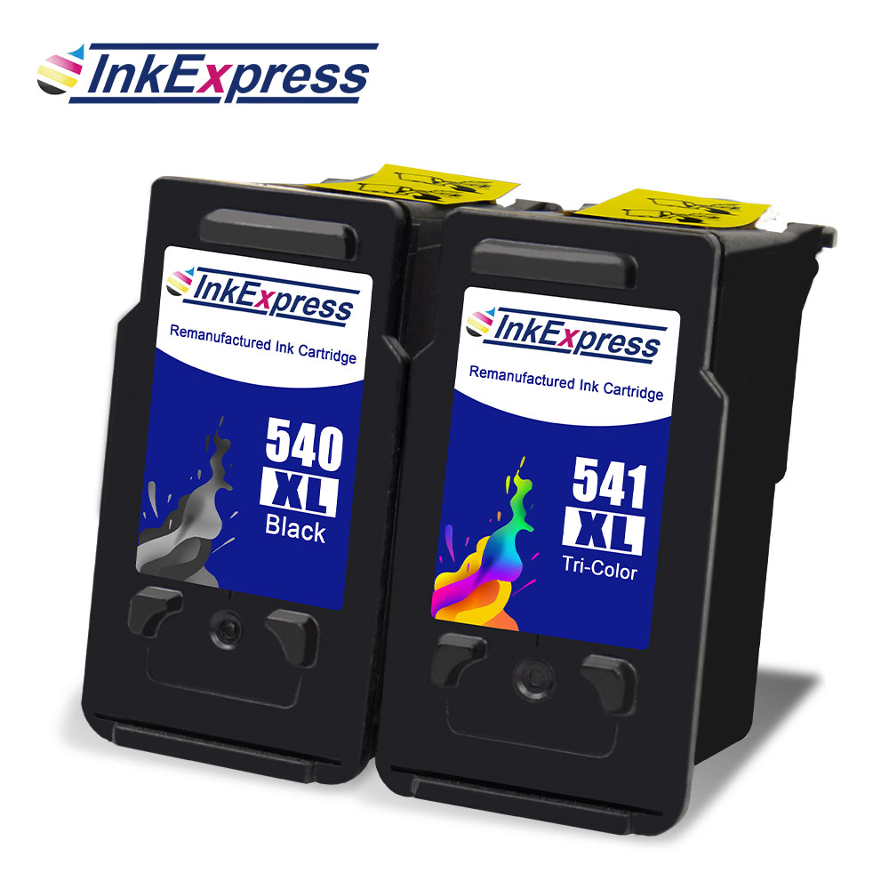 InkExpress PG540 CL541 Ink Cartridge Compatible For Canon Pixma MG2150 MG4250 MG4150 MG4100 MG3550 MG3600 MG3650 MX525 Printer