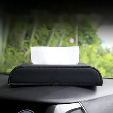 Vehicle-mounted tissue box multi-functional interior decoration creative armrest box car with paper box automotive supplies Daqu