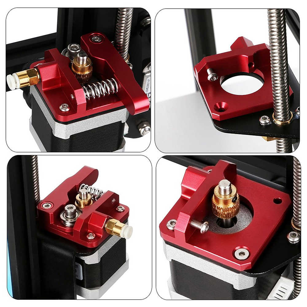3D Printer Onderdelen MK8 Extruder set Metal Bowden Extruder 1.75mm Voor creality 3d Ender Serie Printer