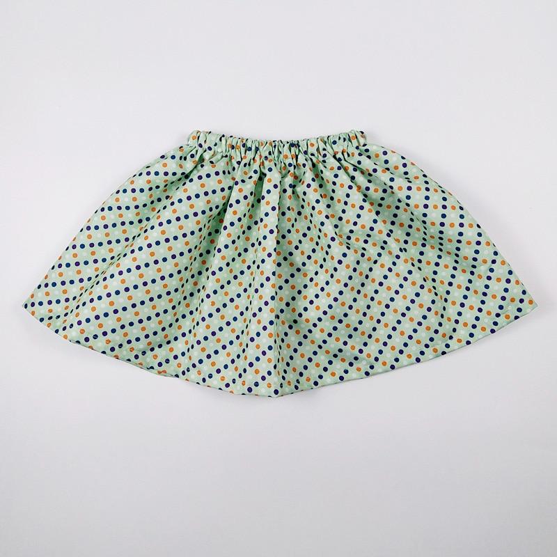 new year printed flower children baby summer tutu girl skirts fashion princess short skirt pettiskirt kids clothes USA Vestido 2
