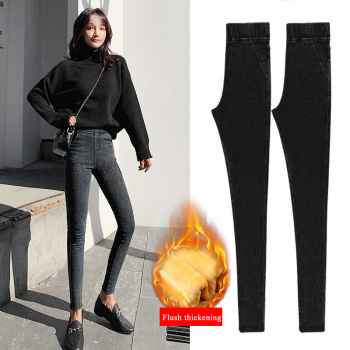New women leggings High waist leggings Slim magic jeans leggings christmas leggings Plus size women pants Y653 фото
