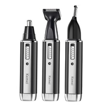 3in1 rechargeable nose trimmer beard trimer for men eyebrow hair and ear cleaner removal machine