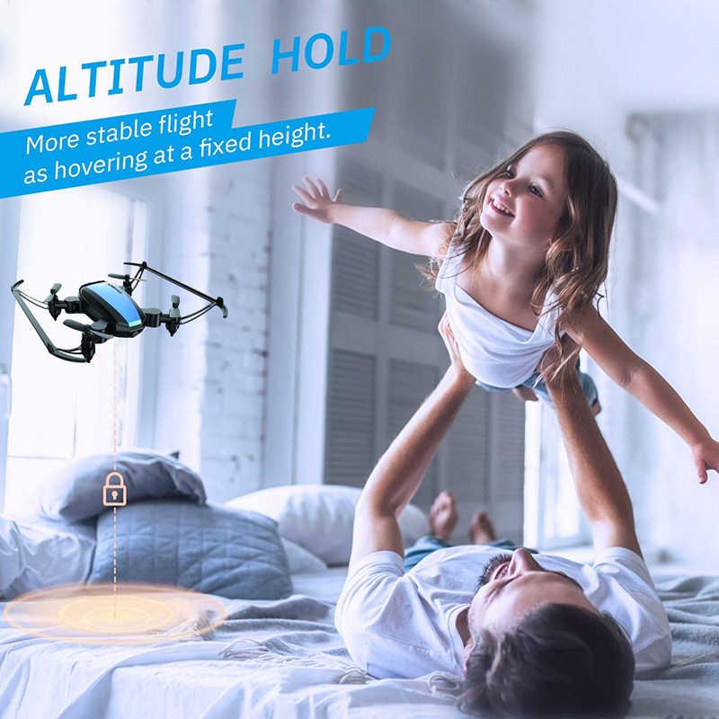 グローバルドローン GW125 ミニポケットドローン子供のための高保持 rc ヘリコプターミニドローン dron juguetes 小さな quadrocopter vs E58 v2 S9W