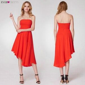 Image 4 - פשוט ערב שמלות ארוך פעם די אונליין צווארון V שרוולים צד פיצול אלגנטי רשמי המפלגה כותנות Długa Sukienka 2020