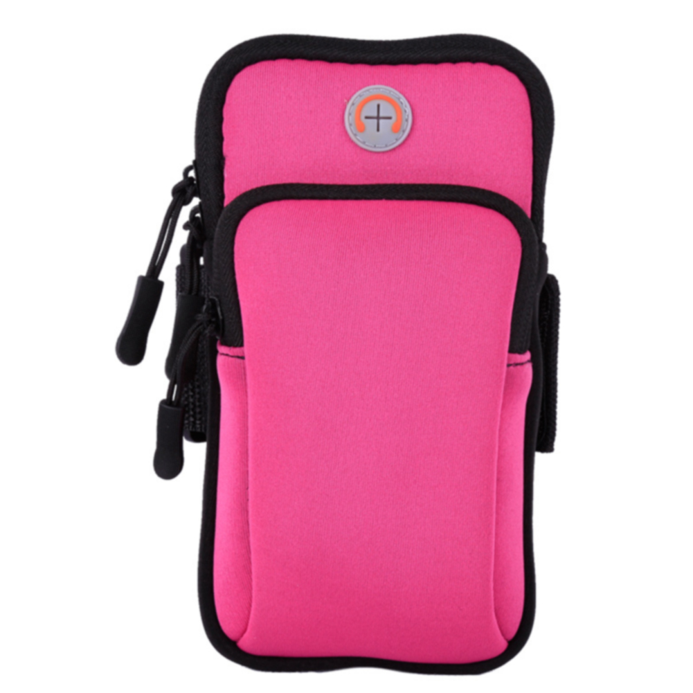 Solid Daily Jogging Outdoor Mobile Phone Holder Gym Armband Waterproof Sport Running Wear Resistance Organizer Bag Pouch