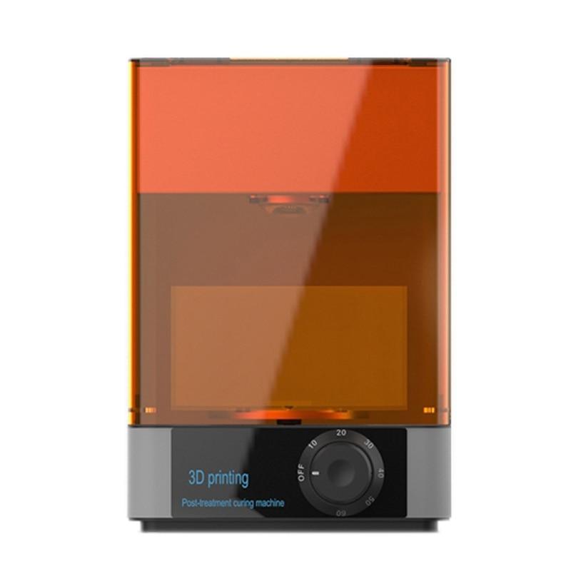 Image 5 - DLP/LCD/ SLA resin 3D printer UV curing Rotating&Timing machine 400 405nm wavelength UV LED Lamp curing  box3D Printers   -