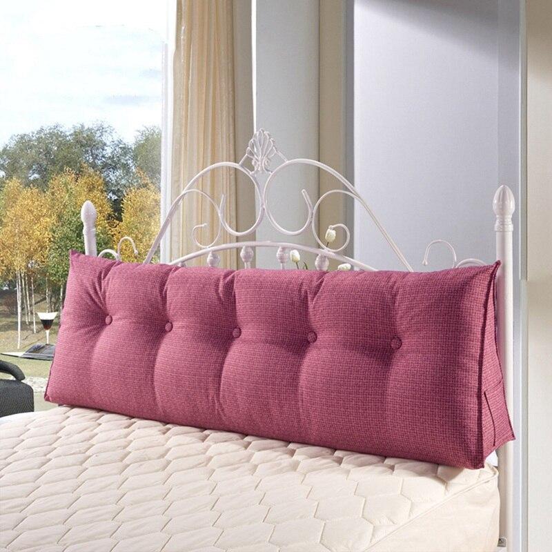 Coussin de chevet PP coton cale oreiller grand respirant doux lit oreillers lavable lit coussin pour dormir repos décoration de la maison
