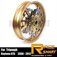 Motorcycle Wheel Rim For Triumph Street Triple 675 Front Wheel Rims Motorcycles Wheels Rims Daytona 675R 2011 2012 11 12