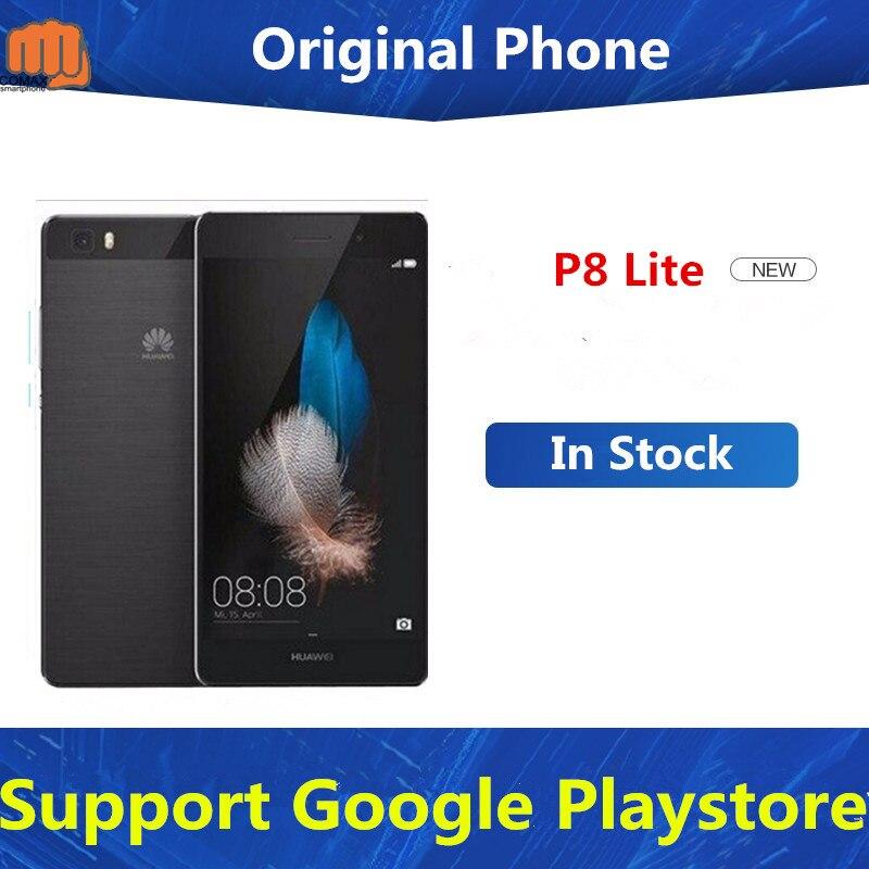 Original HuaWei P8 Lite 4G LTE Mobile Phone Kirin 620 Octa Core Android 5.0 5.0″ IPS 1280X720 2GB RAM 16GB ROM 13.0MP