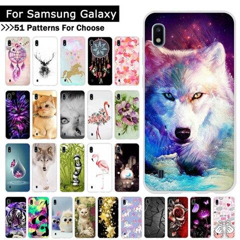 For Samsung Galaxy A10 A20 A30 A40 A50 A70 Phone Cover Animal Cartoon Soft Silicone TPU Cases Back Phone Covers Coque Fundas Pakistan