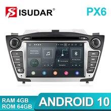 Idar r PX6 2 Din 안 드 로이드 10 자동차 멀티미디어 플레이어 GPS 현대/IX35/투 손 2009 2015 Canbus 자동 라디오 USB DVR DVD 플레이어 DSP