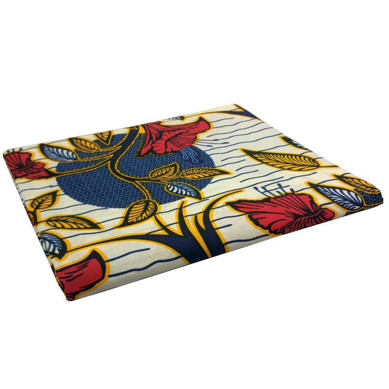 African Gothic DIY Fabric Flowers Circle Ripple Prints Fabric 2019 Dutch Wax High Quality