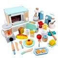 Новые детские деревянные игровые наборы, деревянные игрушки, обмен интересами для родителей и детей, Детский имитационный кухонный набор и...