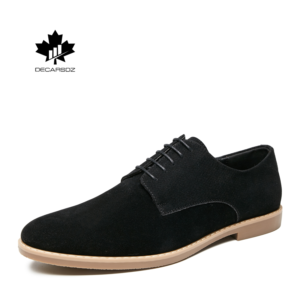 Men Casual Shoes Man Fashion Suede Man