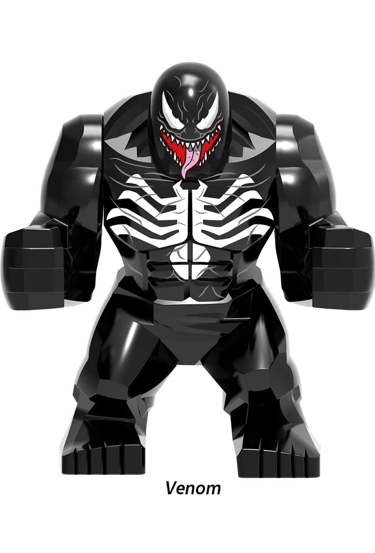 マーベルアベンジャースーパーヒーロー抗毒映画 thanos さんカル黒曜石バットマンハルクバスター図ビルディングブロックのおもちゃ