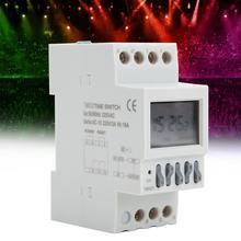 AC220V Digital Timer TM623 Switch Latitude Automatic Adjustment Smart 8 On Off
