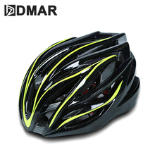 купить DMAR Bicycle Cycling Helmet Ultralight EPS+PC Cover MTB Road Bike Helmet Cycling Integrally Molded Helmet Cycling Safely Cap онлайн