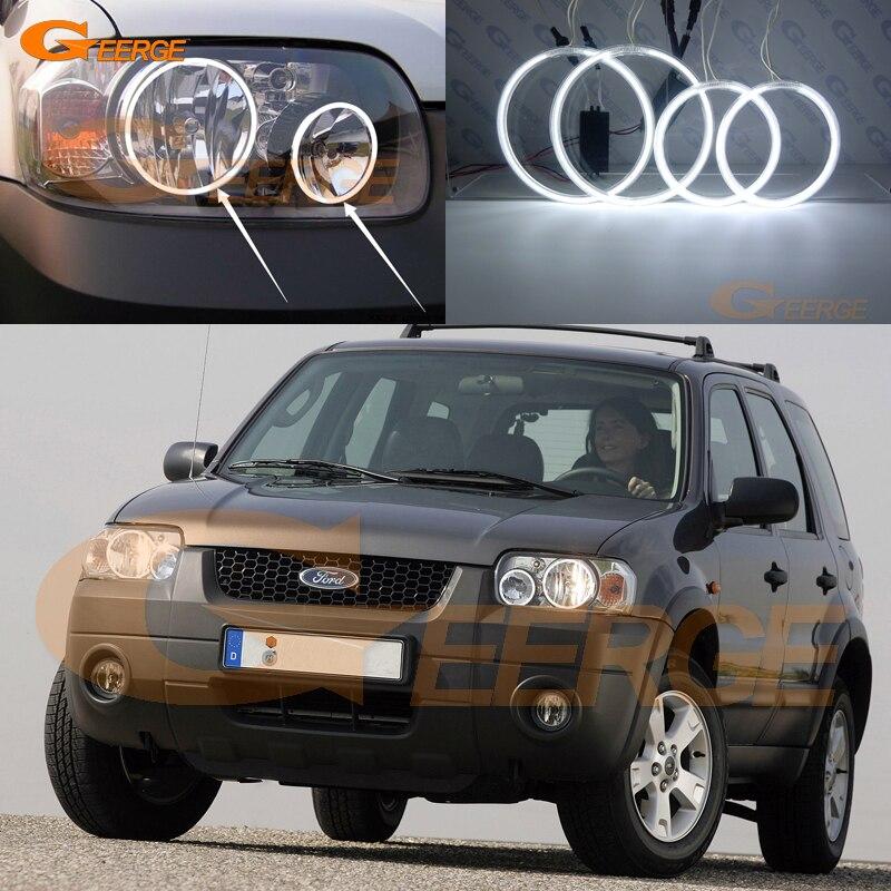 For Ford Maverick 2005 2006 2007 Excellent Ccfl Angel Eyes Kit Halo Ring Ultra Bright Illumination