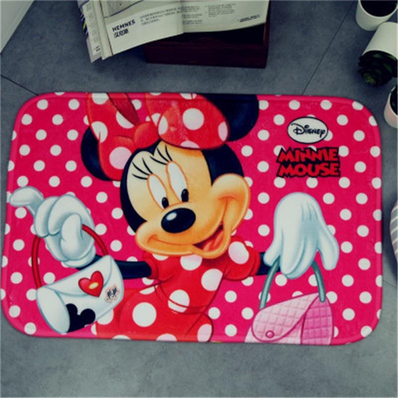 Disney cartoon mat Mickey Minnie children carpet super soft sponge absorbent pad bathroom mat Kitchen bedroom living room