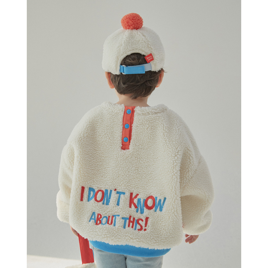 RJ Korea Brand 2021 New Winter Boys Coats Kids Jackets for Girls Cartoon Caca Fur Thick Warm Children Clothes Baby Outwear 6