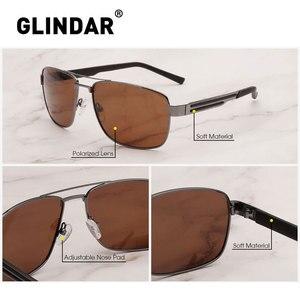 Image 4 - Brand Design Men Polarized Sunglasses Square Driving Sun Glasses for Men