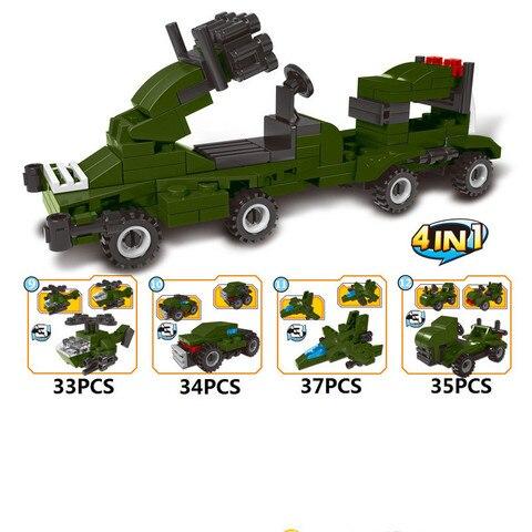 1519 pces transformacao carros de montagem construcao