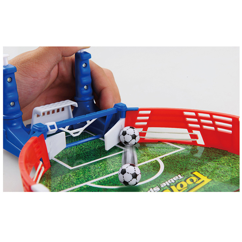 Mini Table Sports Football Soccer Arcade Party Games Double Battle Interactive Toys for Children Kids Adults 4