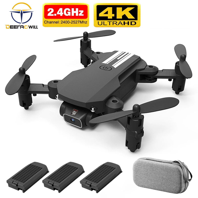 2020 NEW RC drone 4k HD wide angle camera wifi fpv drone height keeping drone with camera mini drone video live rc quadcopter