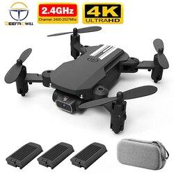 2020 novo rc zangão 4k hd grande angular câmera wifi fpv zangão altura mantendo zangão com câmera mini zangão vídeo ao vivo rc quadcopter