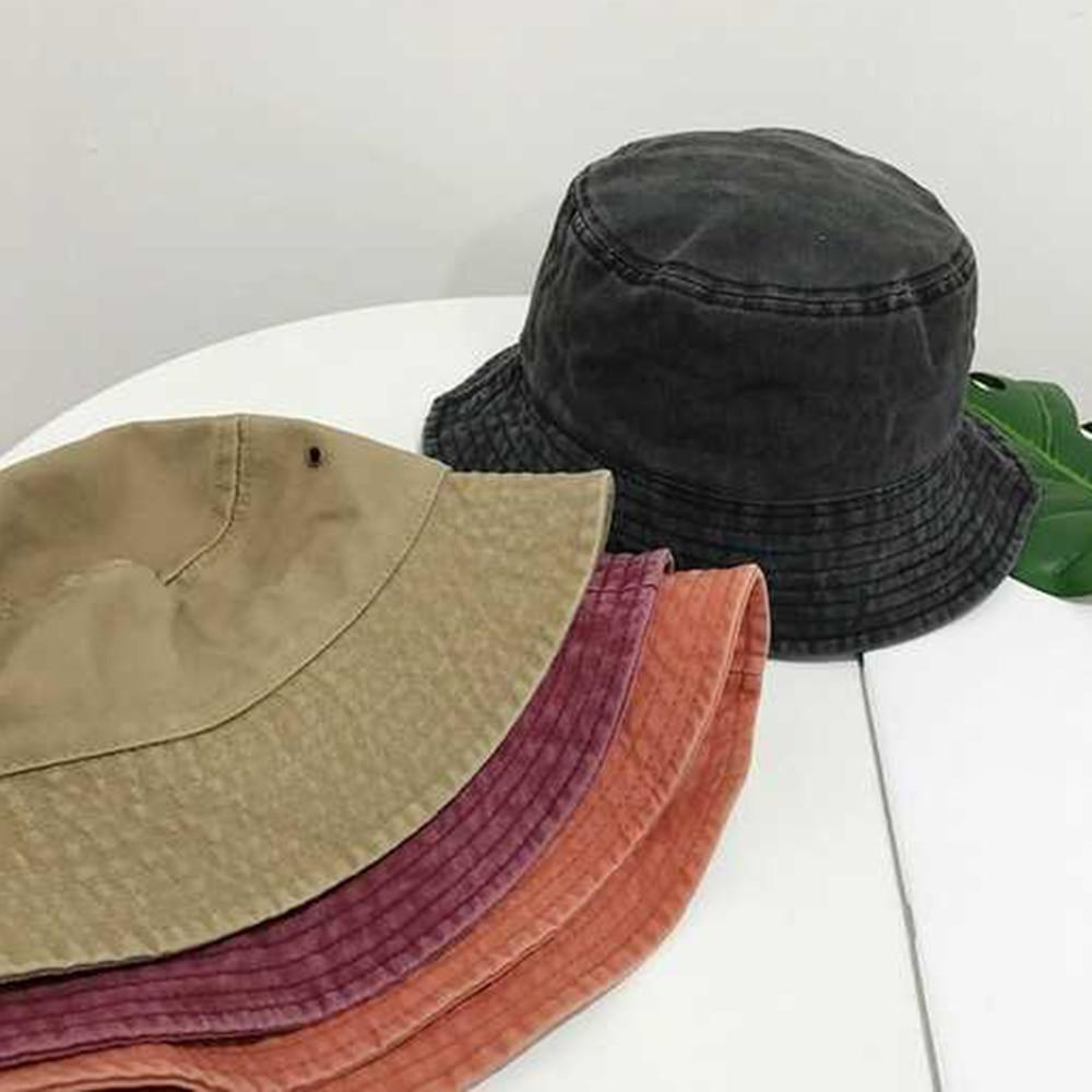 2019 New Fisherman s hat Bucket Hat Unisex Fashion Bob Caps Hip Hop Gorros Men Women