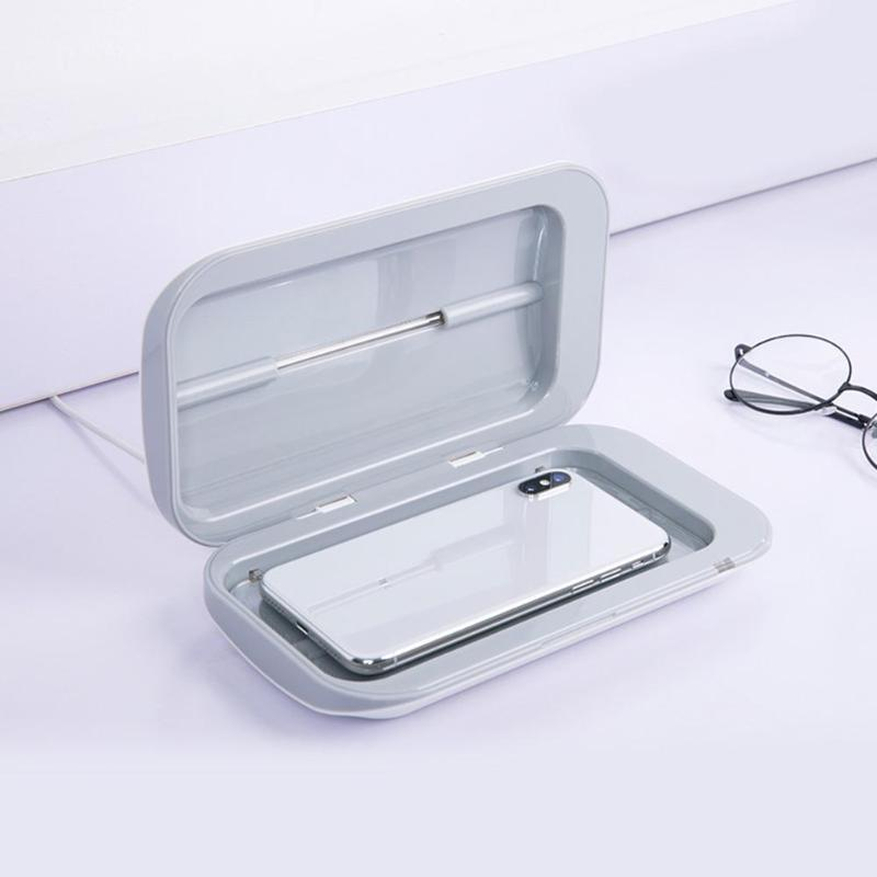 Portable Double UV Disinfection Box Ultraviolet Disinfector For Phone Masks Sterilizer Safety Hygiene Good Sealing Performance