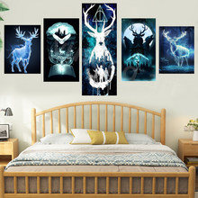 Harries cartel Animal águila Potteres pintura de la lona impresiones de la película Quadro Cuadros arte de pared imagen para decoración para sala de estar