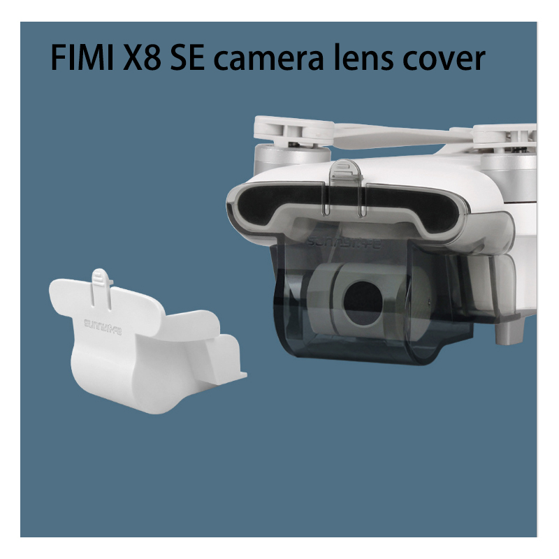 The Newnest Protector Integrated Lens Cap For The FIMI X8 SE Drone Accessories PTZ Protective Cover Accessories Camera Lens C