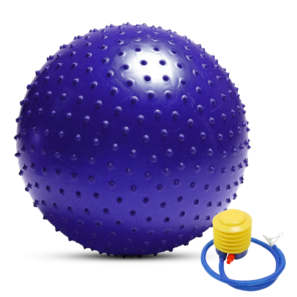 FLYWM Pelota de yoga para pilates con bomba r/ápida 45 cm, 55 cm, 65 cm, 75 cm, antideslizante tama/ño 45cm color amarillo