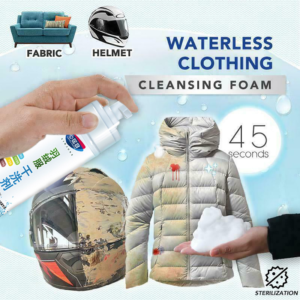 laundry stain removers Down jacket dry cleaning laundry detergent Spray Clothing Wash Free household cleaner remove stains aug26|Laundry Stain Removers| |  - title=