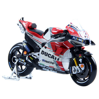 1:18 Scale 2018 MotoGP DUCATI Desmosedici GP18 #04 Alloy Motorcycle Diecast Bike Car Model Toy Collection Xmas Gift maisto new 1 10ducati desmosedici alloy diecast motorcycle model workable shork absorber toy for children gifts toy collection