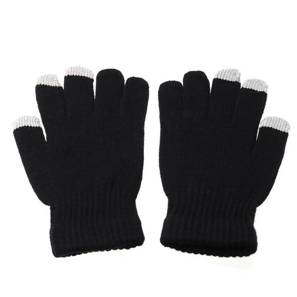 Mittens Heated Gloves Thermal Hand Warmer Knitted Cycling Outdoor Skiing Hunting Soft Winter USB Powered Snowboard Motorcycle