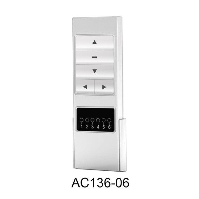 Aoke שלט רחוק AC123 AC136 AC133 AC134 AC135 עבור חשמלי וילון, וילון אביזרי מרחוק בקר עבור AOK מנוע