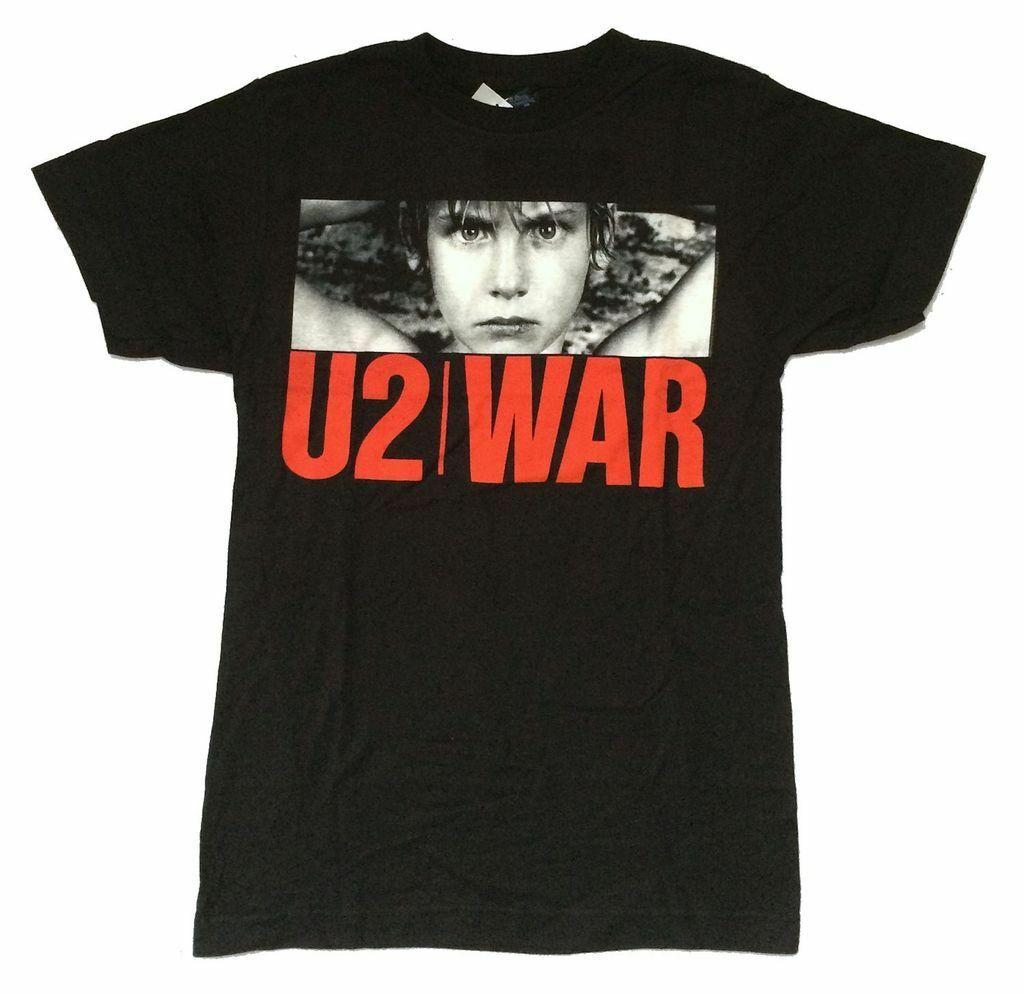 War Rock Band Cover Logo Men/'s White T-Shirt Size S to 3XL New U2
