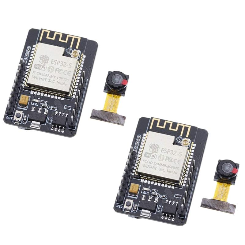 Esp32 Cam Wifi And Bluetooth Camera Module Development Board With Ov2640 Camera Module - 2 Pack