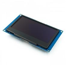 """לבן 2.42 """"2.42 אינץ LCD מסך 128x64 OLED תצוגת מודול IIC I2C SPI סידורי עבור C51 SPD0301"""