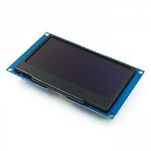 "Beyaz 2.42 ""2.42 inç LCD ekran 128x64 OLED ekran modülü IIC I2C SPI seri C51 SPD0301"