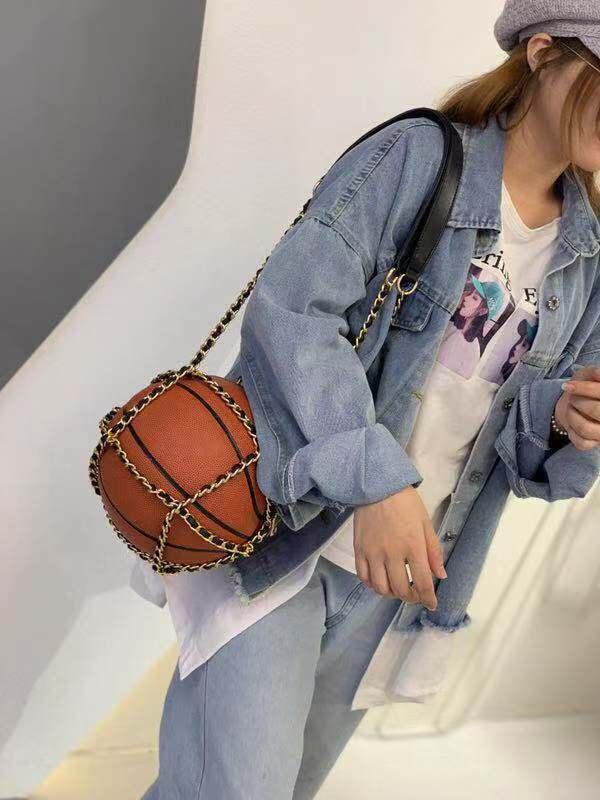 personalidade bolsas basquete luxo