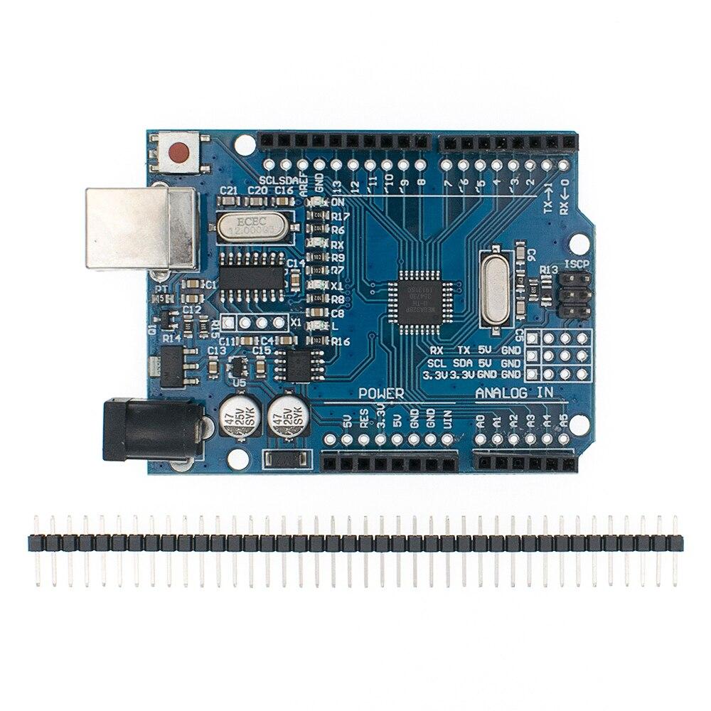 UNO R3 CH340G + MEGA328P SMD Chip 16Mhz dla arduino UNO R3 płyta rozwojowa kabel USB ATEGA328P jeden zestaw 3