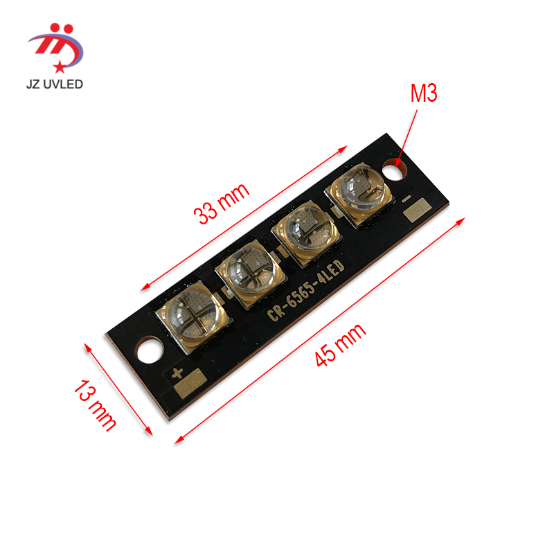 40W high power <font><b>UV</b></font> <font><b>LED</b></font> module <font><b>UV</b></font> gel curing ink dry varnish curing 365nm/395nm/405nm/385nm Ultraviolet <font><b>LED</b></font> light image