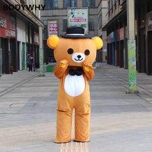 2020 костюм талисмана для плюшевого мишки костюмы костюмированной