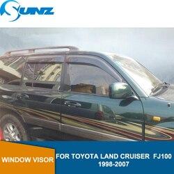 Auto fenster regen schutz Für Toyota Land Cruiser LC100/FJ100/LX470 1998 1999 2000 2001 2002 2003 2004 2005 2006 2007 SUNZ