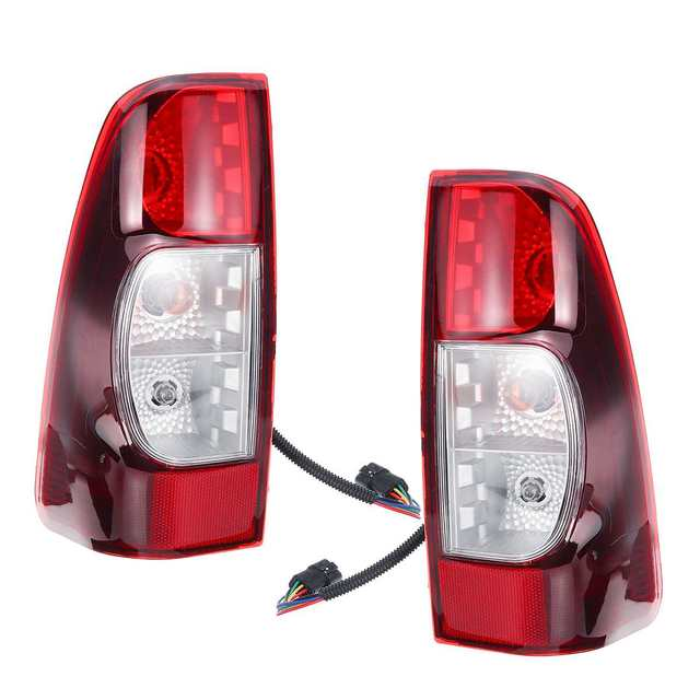 1Pair Taillight For Isuzu Rodeo/DMax Pickup 2007 2008 2009 2010 2011 2012 Tail Light Rear Brake Reverse Signal Lamp Accessories