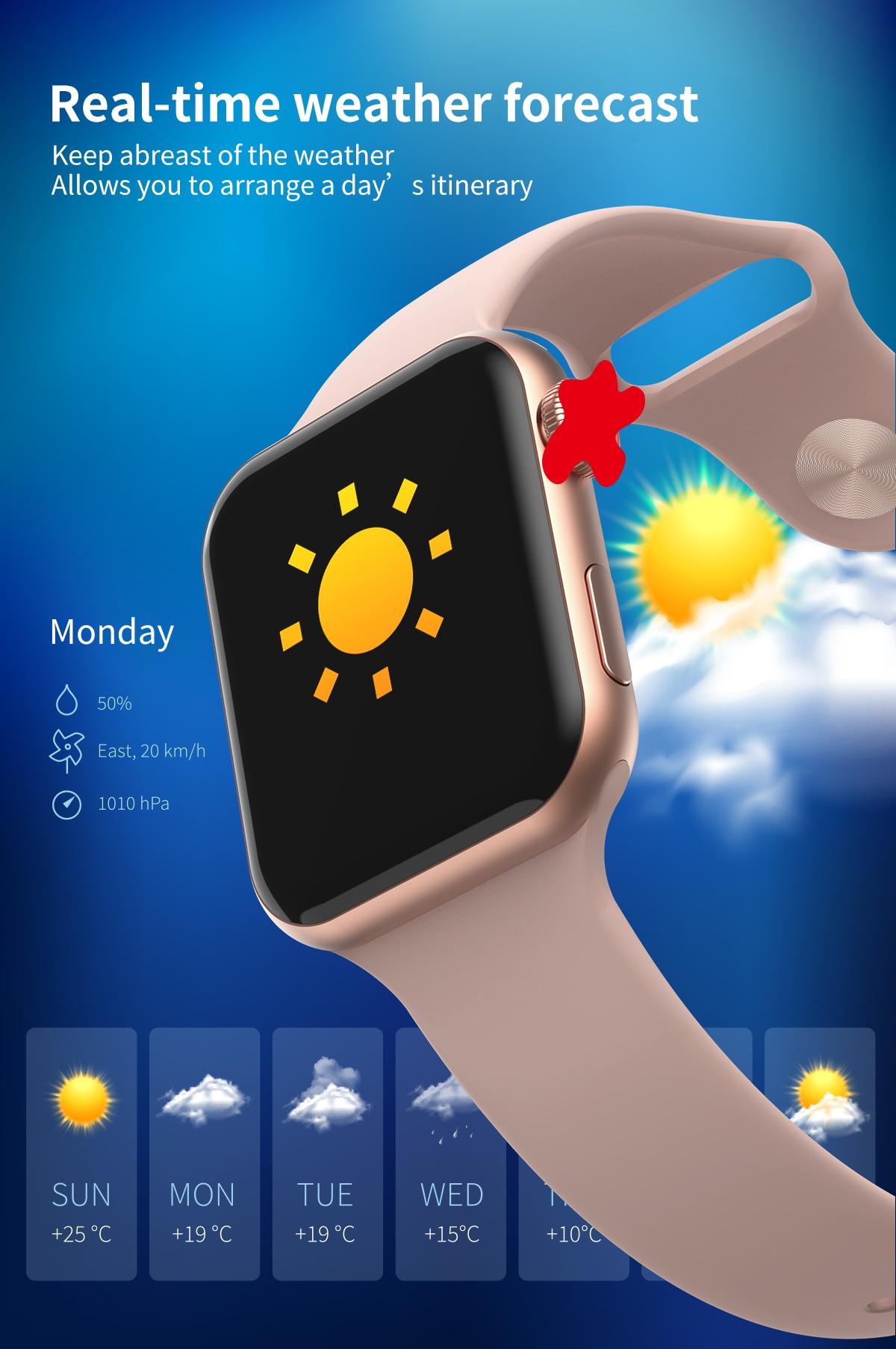 H82be578beb224ecfa2ca7e1fed8b6de3Z 696 New Style F10 Smart Watch Full touch screen Bluetooth Smartwatch Music Camera Heart Rate Monitor Waterproof Smart Bracelet