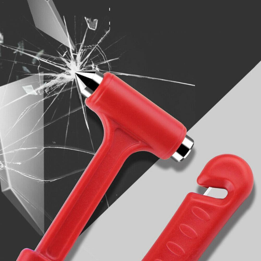 Belt Window Glass Breaker Car Rescue Tool Mini Escape Hammer Safety Hammer Life Saving Emergency Car W5E2